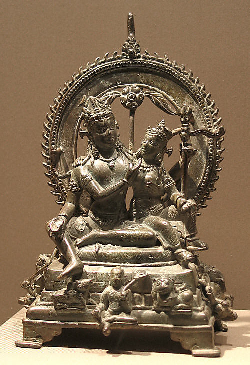 Shiva Seated with Uma (Umamaheshvaramurti)