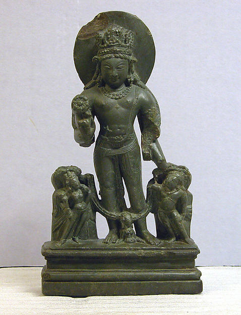 Vishnu with his Personified Attributes