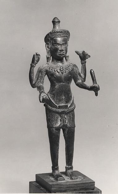 Standing Four-Armed Vishnu
