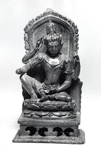 Seated Four-Armed Bodhisattva