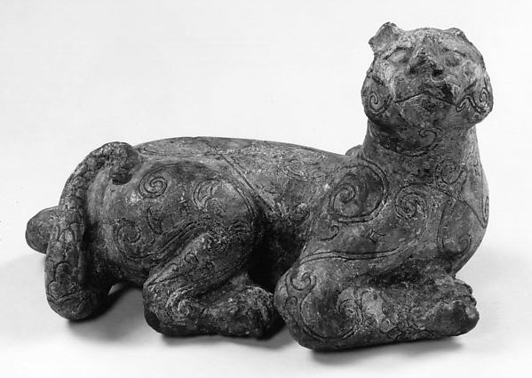 Ornament in the Shape of a Reclining Tiger