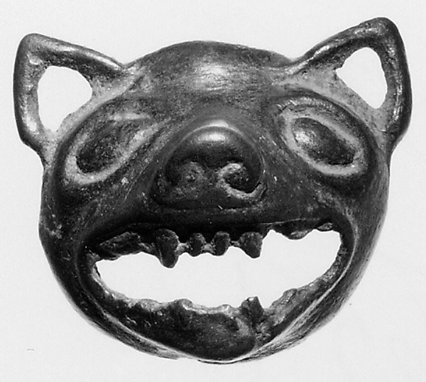 Ornament in the Shape of an Animal Head