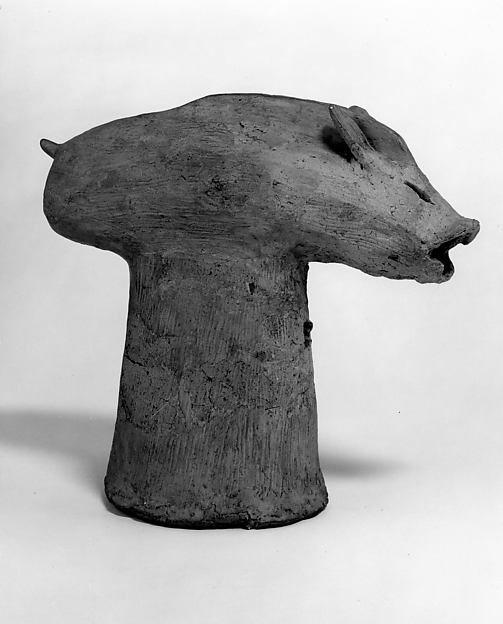 Haniwa Head of Boar