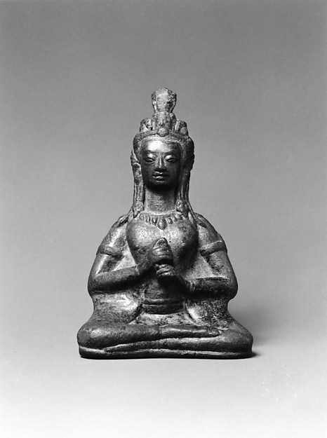 Seated Prajnaparamita (?), the Goddess of Transcendent Wisdom