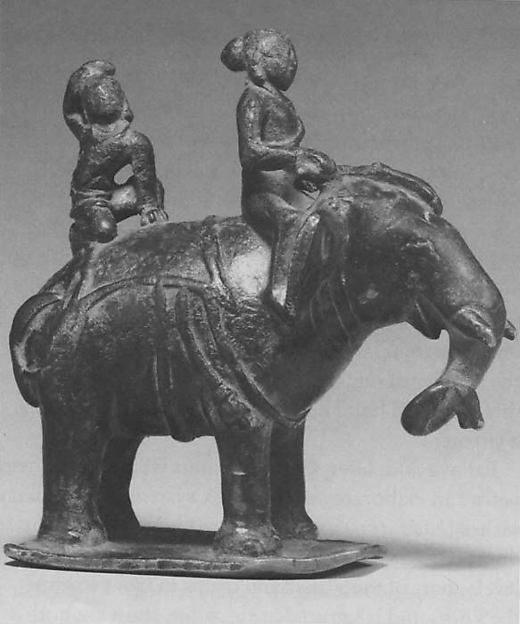 Royal Riders on an Elephant