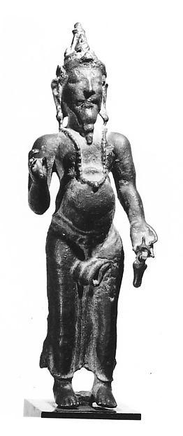 Standing Deified Sage Agastya
