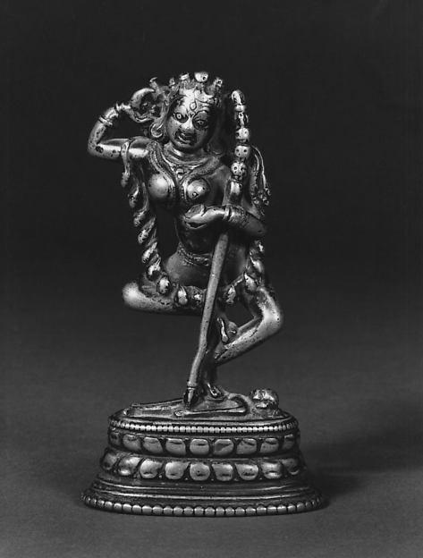 Vajravarahi Dancing on a Corpse