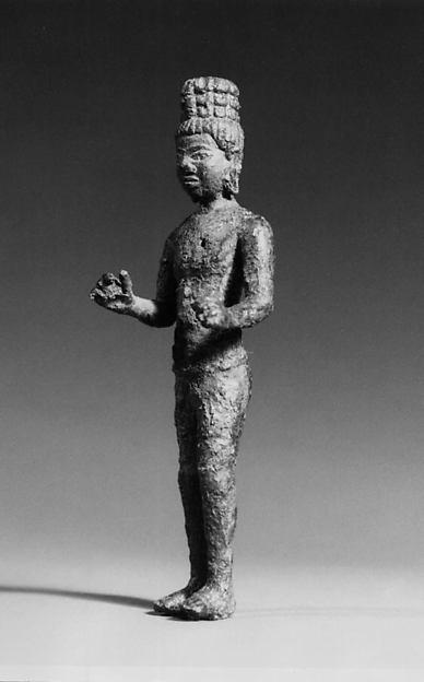 Standing Bodhisattva, probably Avalokiteshvara
