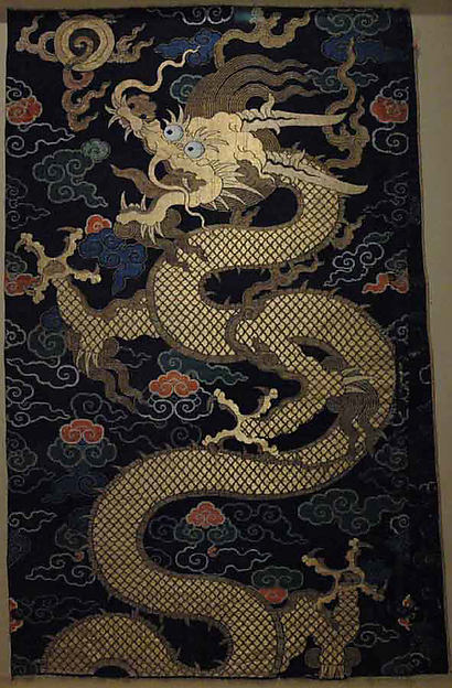 Panel with Dragon
