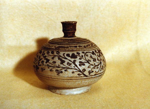 Bulbous Jar with Narrow Neck