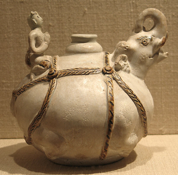 Vessel in the form of an Elephant with Rider