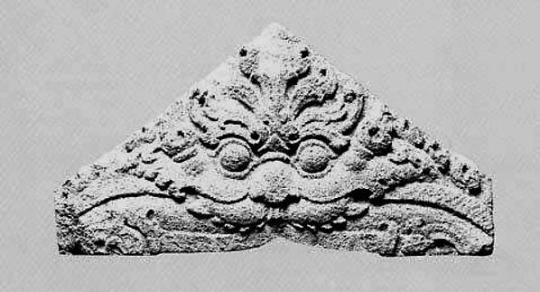 Antefix with a Mythical Kala Face