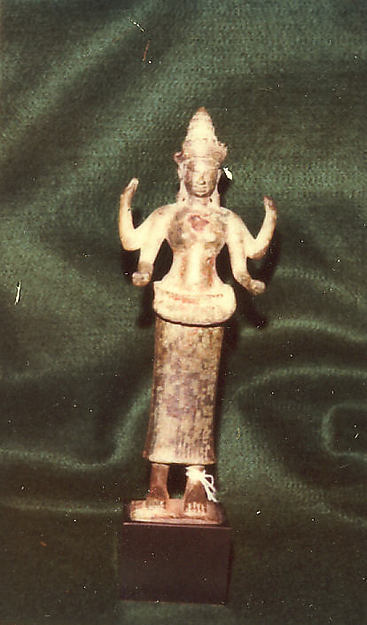 Standing Four-Armed Female Deity