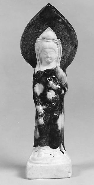 Figure of Goddess with Flame Mandorla