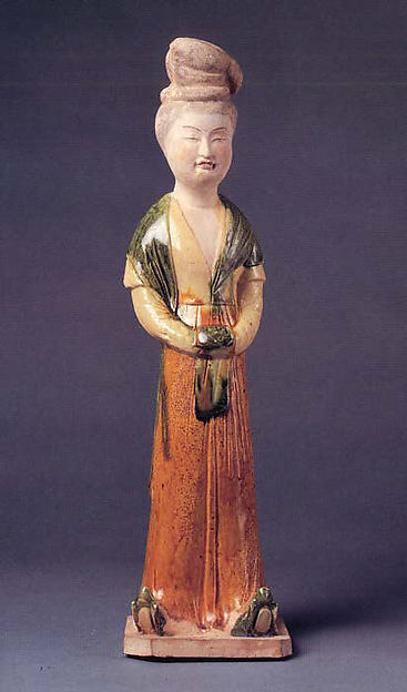 Figure of a Lady Wearing a Long Shawl