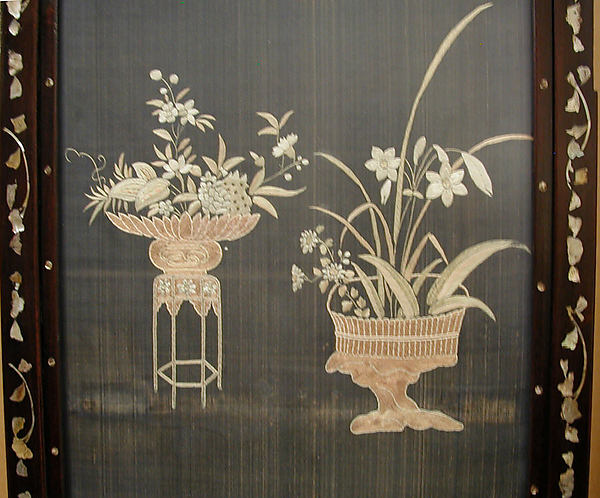 Embroidered Panel (from set of four)