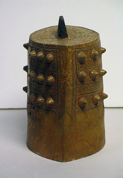 Ceramic Model  of a Bronze Bell