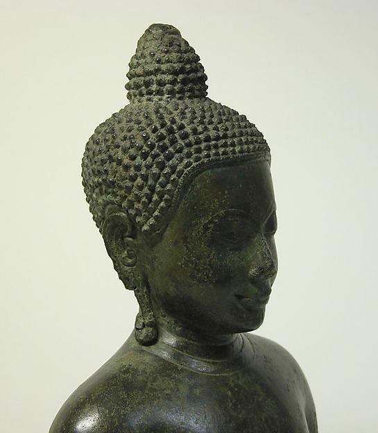 Bust of a Buddha