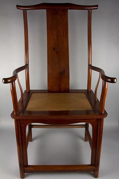 黃花梨官帽椅<br/>Yokeback Armchair