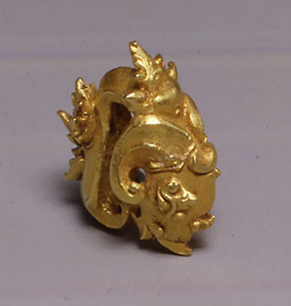 Ear Ornament with Ram's Head