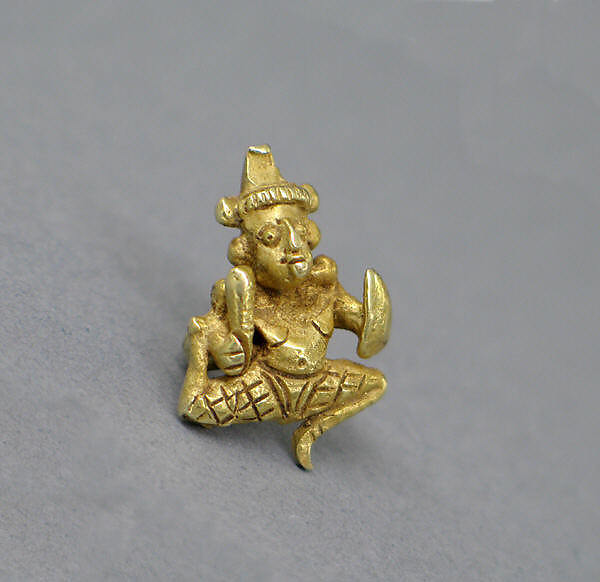 Ear Ornament with Image of Visnu