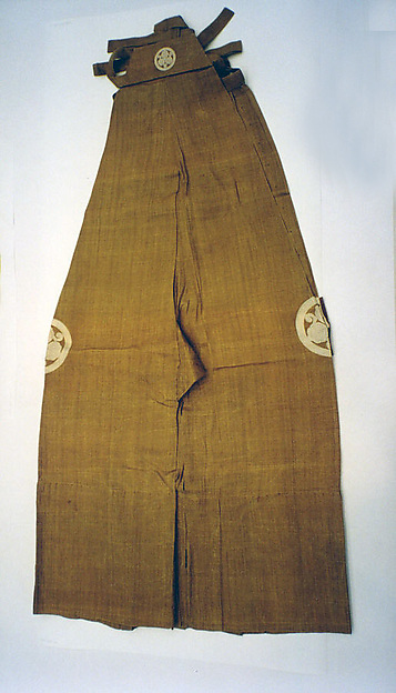 Jacket (suo) and trousers (nagabakama)
