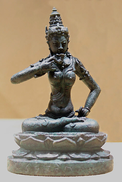 Seated Female Esoteric Buddhist Deity