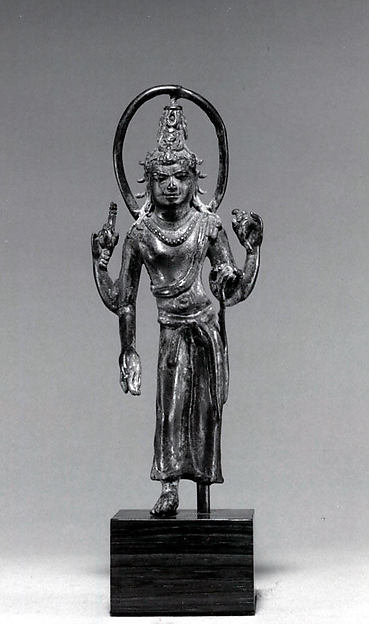 Standing Bodhisattva with Halo