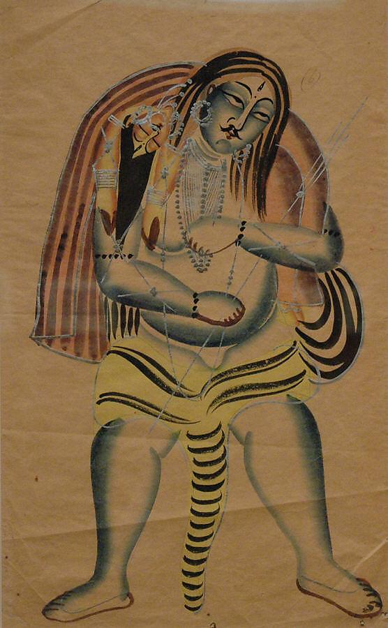 Shiva Carries the Corpse of Sati