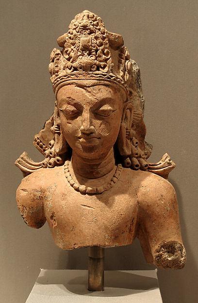 Bust of Vishnu