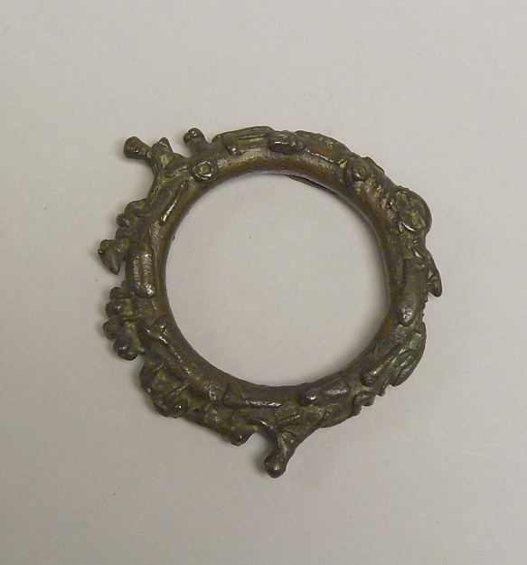 Large Ring with Figural Decoration