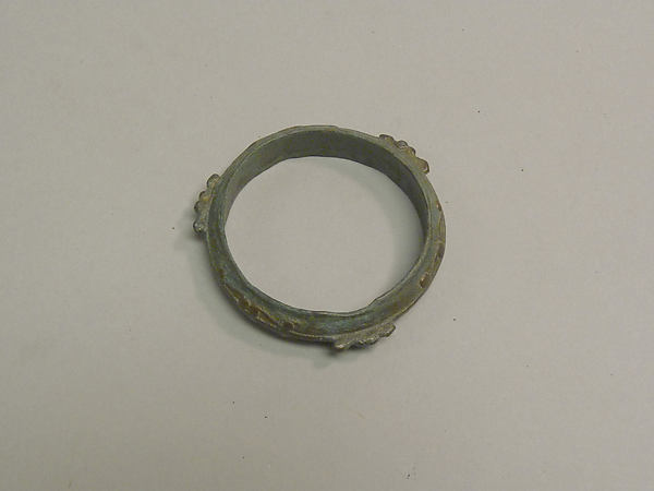 Bangle with Raised Decoration