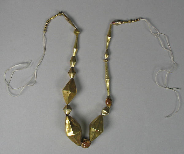 Necklace with Hollow Beads