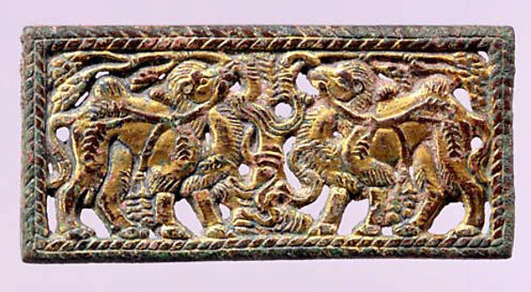 Belt Buckle with Bactrian Camels