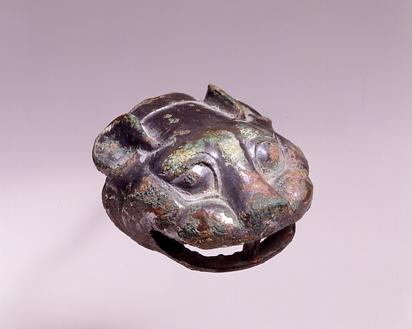 Finial in the Shape of a Tiger's Head