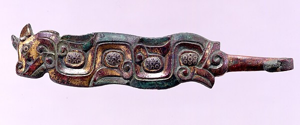 Belt Hook in the Shape of a Horned Dragon
