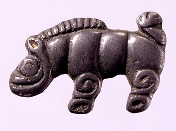 Garment Plaque in the Shape of a Wild Boar