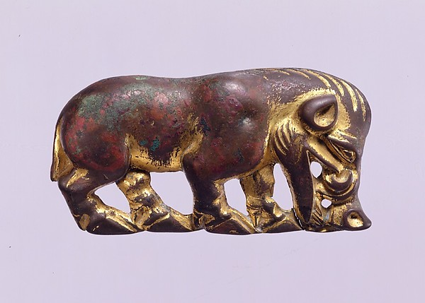 Belt Plaque in the Shape of a Wild Boar