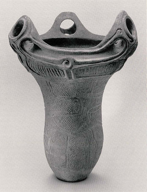 Deep Vessel with Handles