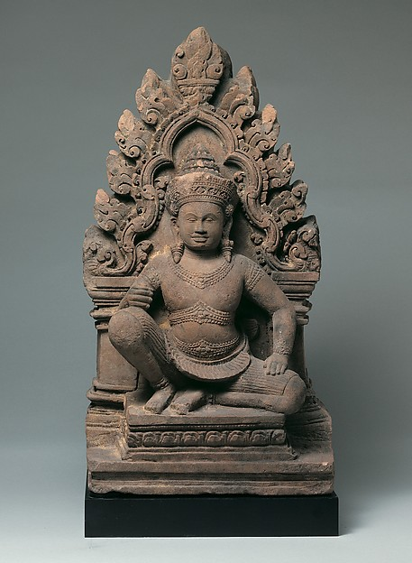 Antefix with Kneeling Guardian