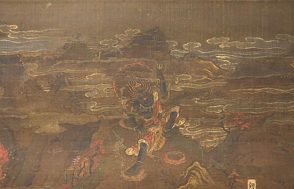 熊野曼茶羅圖<br/>Kumano Shrine Mandala