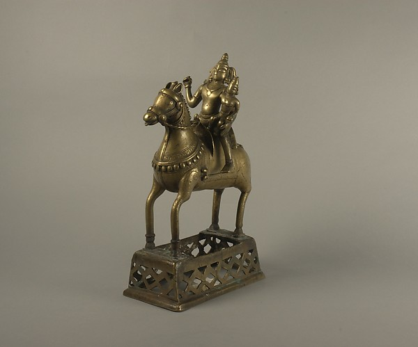 Khandoba and Mhalsi on Horseback