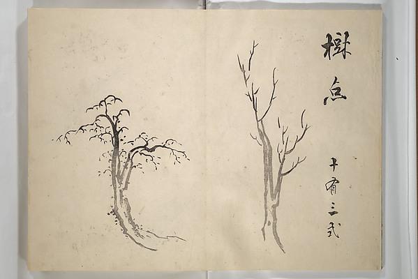 『大雅堂画譜』 <br/>Taigadō (Taiga Hall at Sōrinji Temple) Picture Album (Taigadō gafu)
