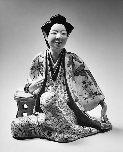 Figure of a Seated Beauty