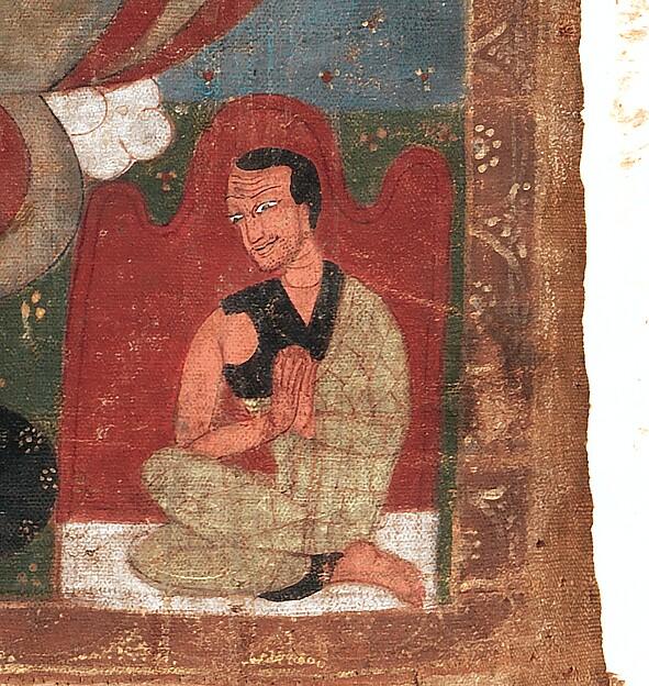 The Buddha Amitayus Attended by Bodhisattvas