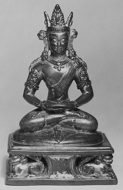 Manjushri, an Emanation of Amitabha Buddha