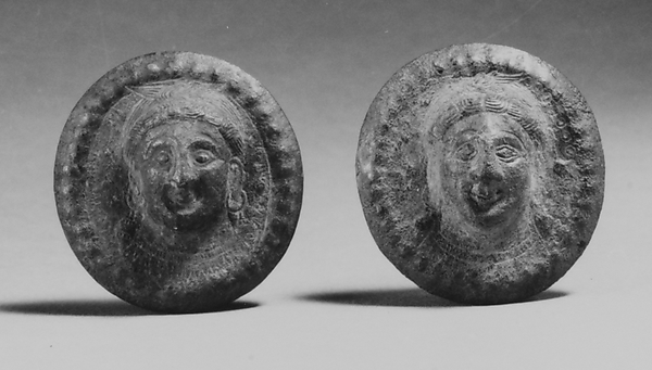 Two Rondels with Heads