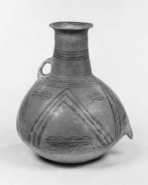 新石器時代馬家窯文化 馬厰類型彩陶壺<br/>Pitcher (Hu)