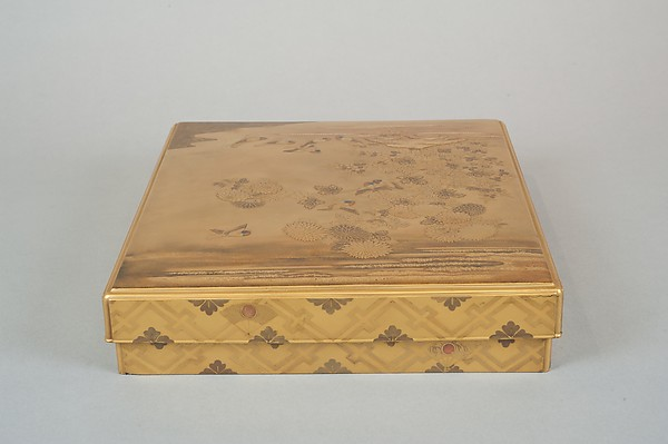 Writing Box with Design of the Tatsuta River