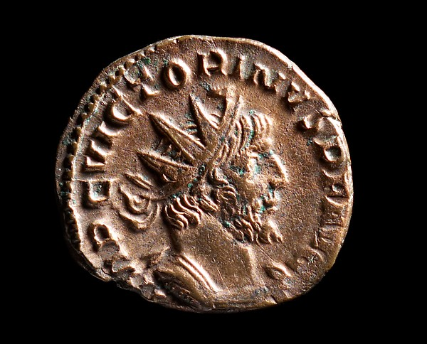 Coin from the Reign of Emperor Victorinus